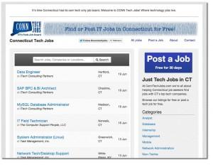 tech jobs connecticut