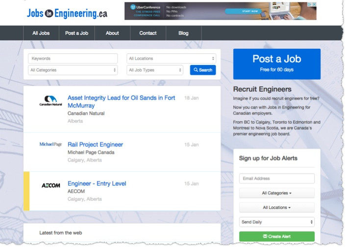 engineering jobs in canada