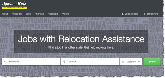 jobs that offer relocation assistance