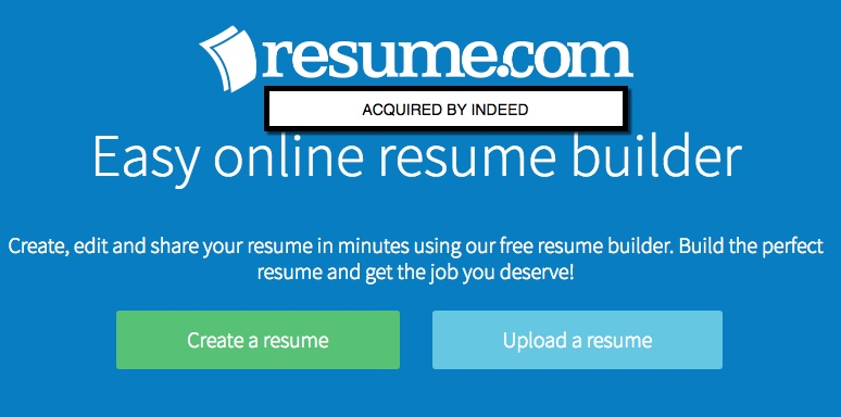 Instant Lead Generation: Indeed Buys Resume.com | Job Board ...