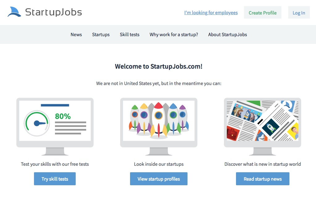 startup job board market heating up overseas - job board consulting