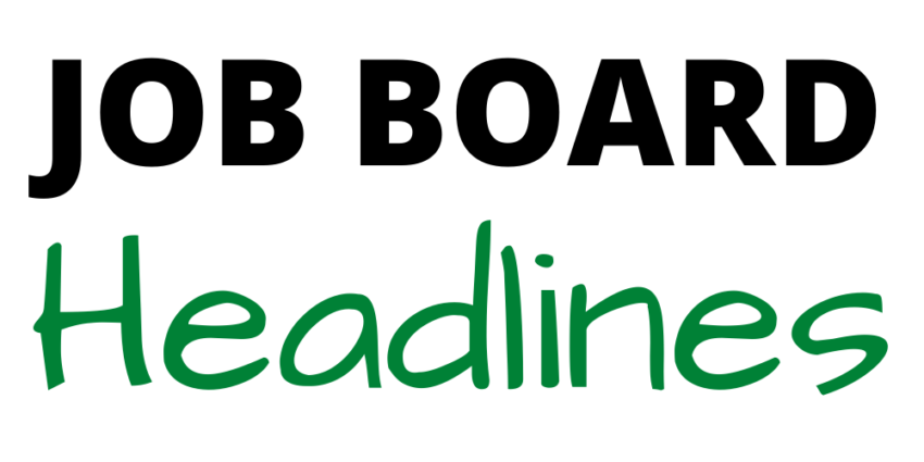 job board headlines