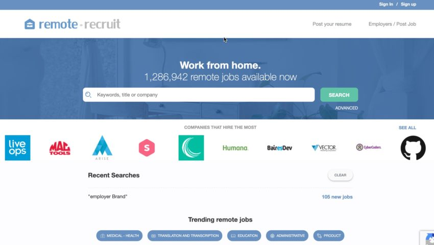 remote jobs finder