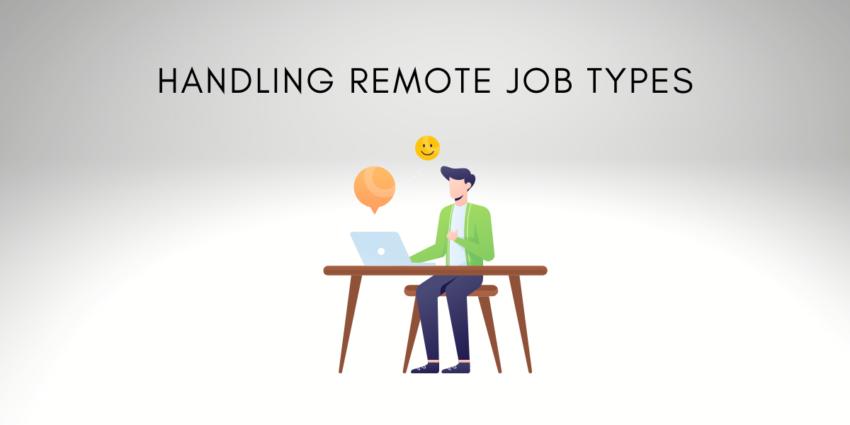 remote job types