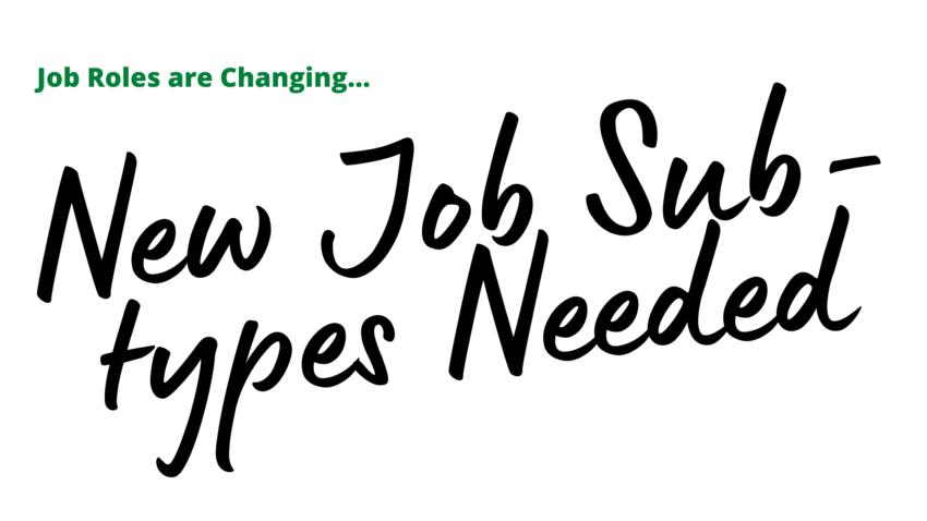 job sub-types